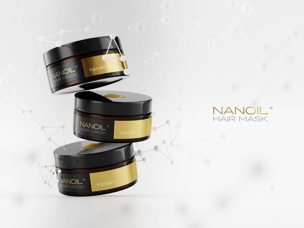 Nanoil favorite mask with keratin